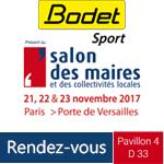 Bodet sport salondesmaires2017