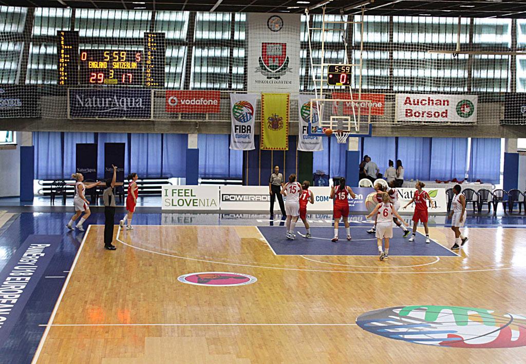 basketball anzeigetafeln european basketball frauen 1
