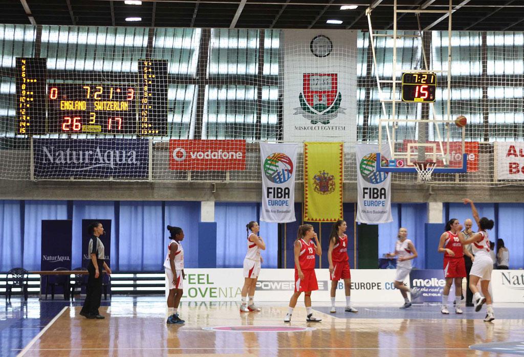 basketball anzeigetafeln european basketball frauen 2