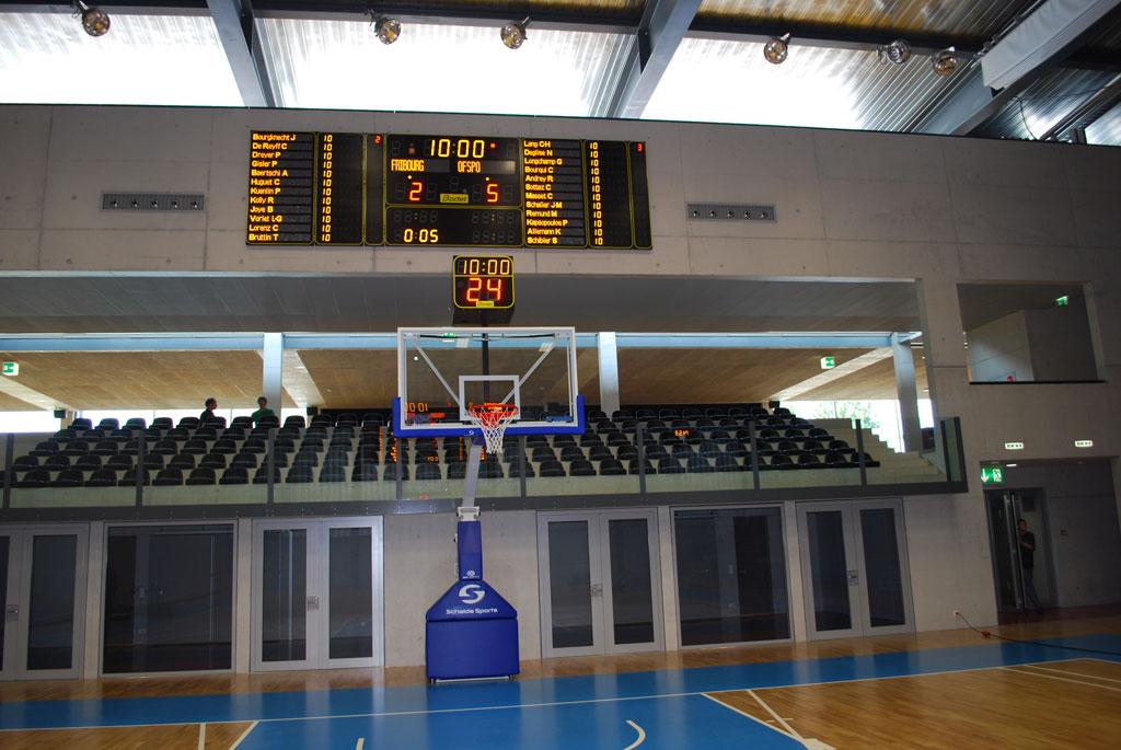 basketball anzeigetafeln switzerland st leonhard mehrsporthalle 3