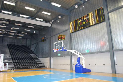 basketball anzeigetafeln switzerland st leonhard mehrsporthalle 4