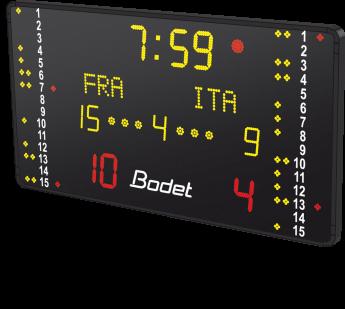 wasserball sportanzeigetafel btx6220WP