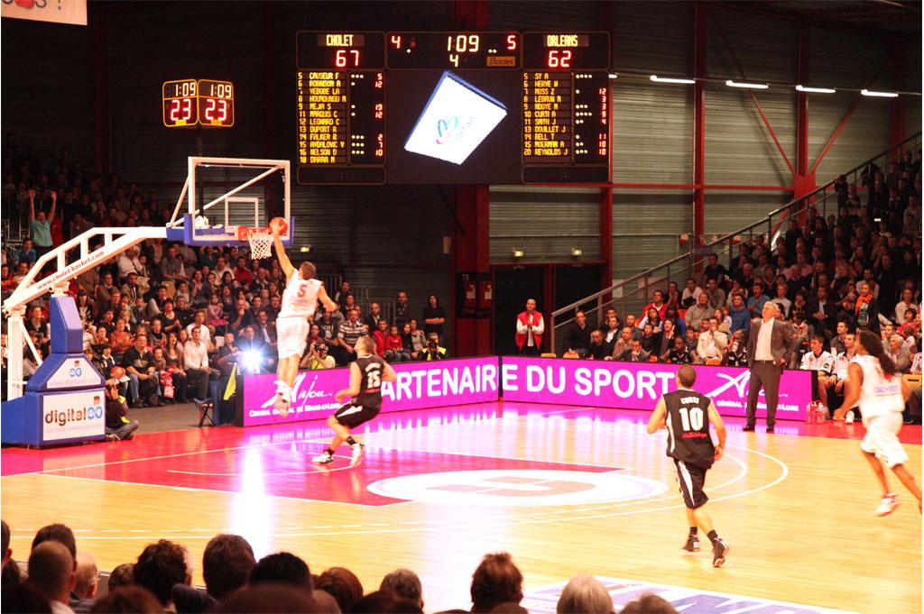 sportanzeigetafel basketball la meilleraie cholet 4
