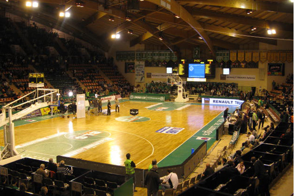 basketball anzeigetafeln parc des sports beaublanc sporthalle france 1