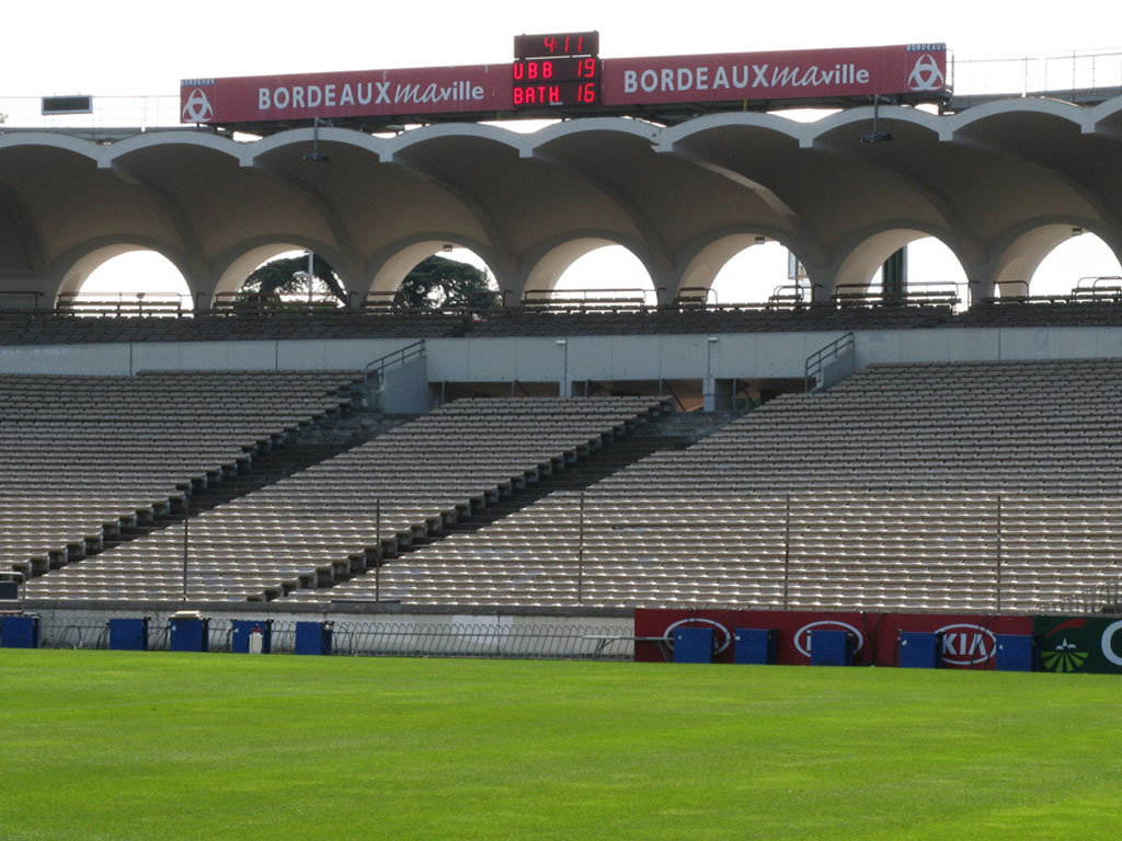 fussball sportanzeigetafel bordeaux stadion chaban delmas bt2045 alpha 1