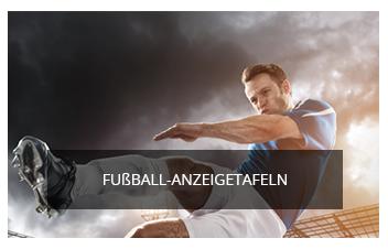 Fussbal Anzeigetafeln
