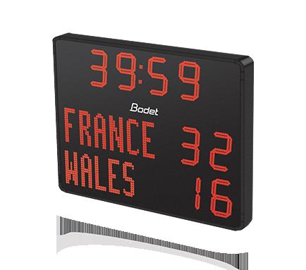 BODET Sport - Führender Anbieter von Anzeigetafeln in Frankreich