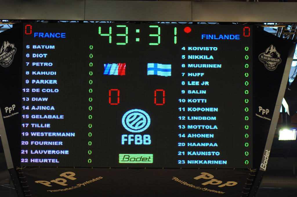 scoreboards arena palais des sports pau 2