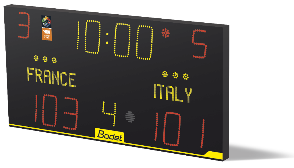 scoreboard basketball alpha scoreboards bodet sport basket sports ball affordable most schools