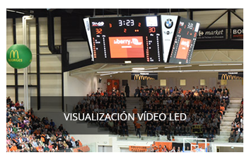 pantallas video led