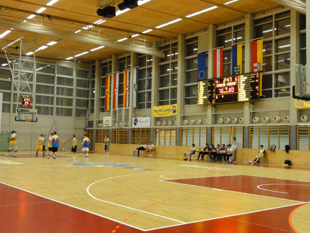 Bodet - Marcadores de baloncesto del Sport Zentrum Niederösterreich, Austria-3