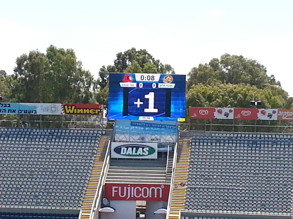 Bodet – Pantallas de vídeo del Estadio Bloomfield, Israel-2