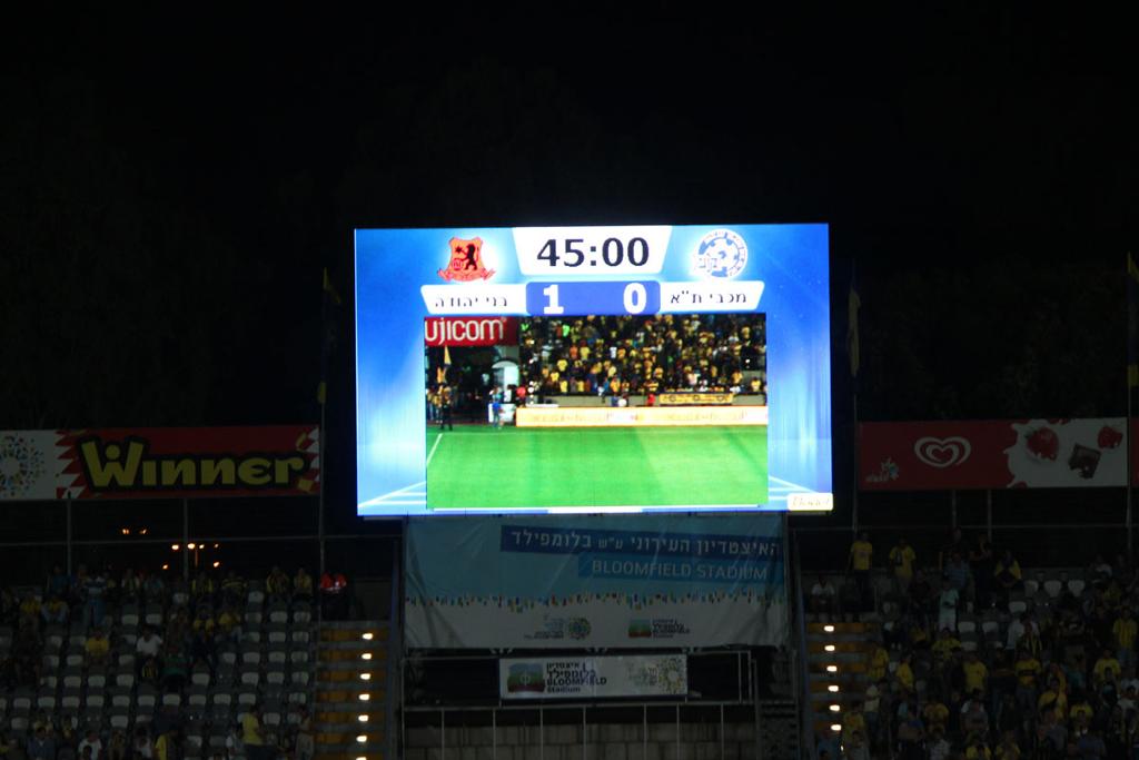Bodet – Pantallas de vídeo del Estadio Bloomfield, Israel-3