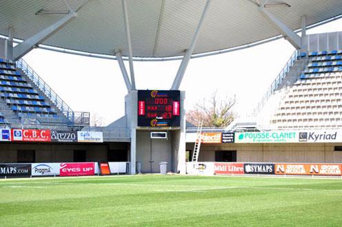 Bodet – Marcadores de fútbol del Estadio La Mosson, Francia-bt2045-alpha-2