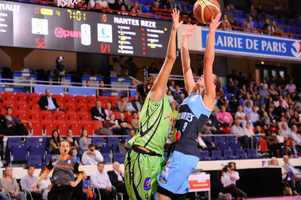 Bodet - Marcadores de baloncesto y balonmano - Estadio Pierre de Coubertin - París-4