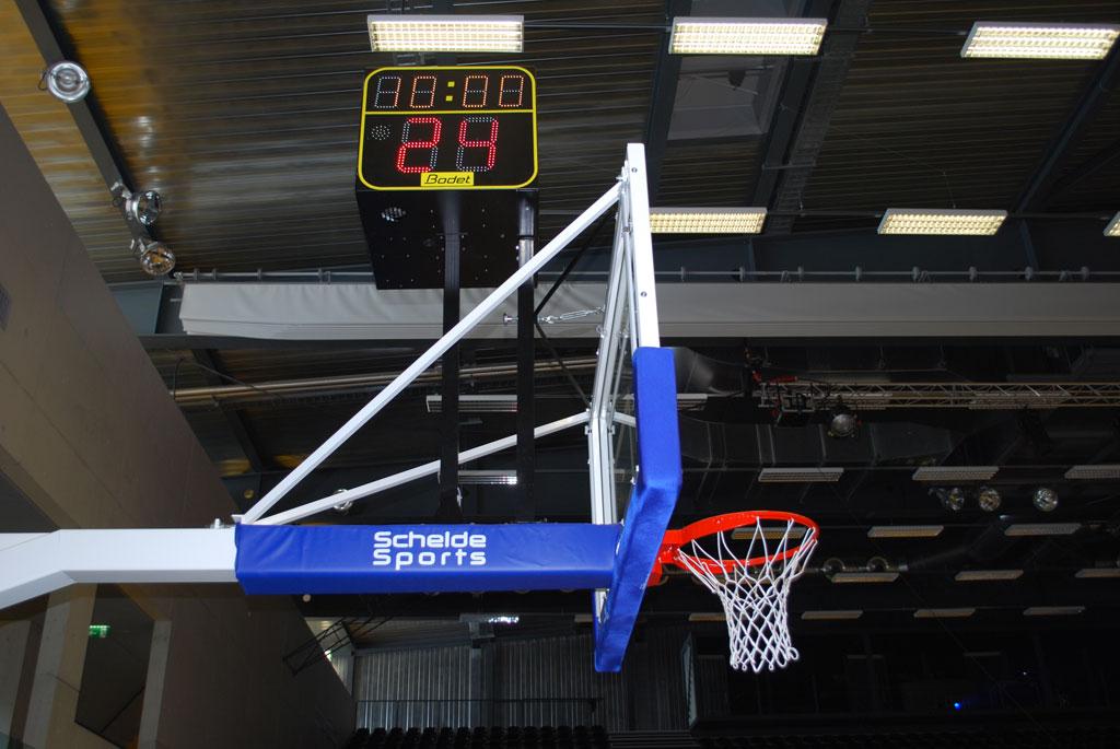Bodet - Marcadores de baloncesto - Pabellón Omnisport Saint-Léonard - Suiza