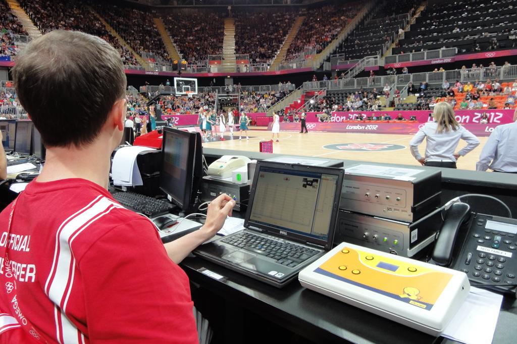 Bodet - Marcadores de los Juegos Olímpicos de Londres de 2012