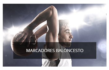 MARCADORES DE BALONCESTO