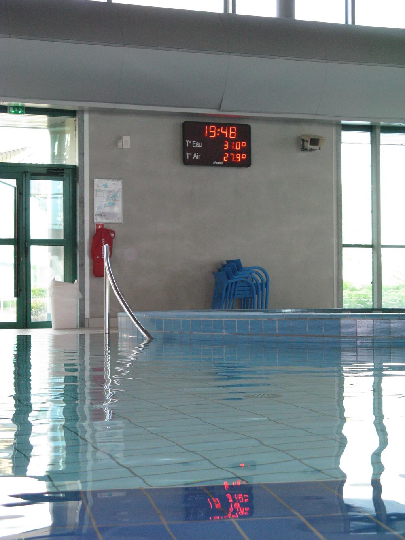 Bodet - Marcadores de waterpolo de la piscina Glisséo-2