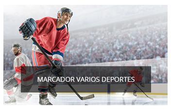 Marcadores para otros deportes