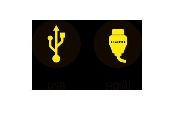 Scorepad - USB y HDMI