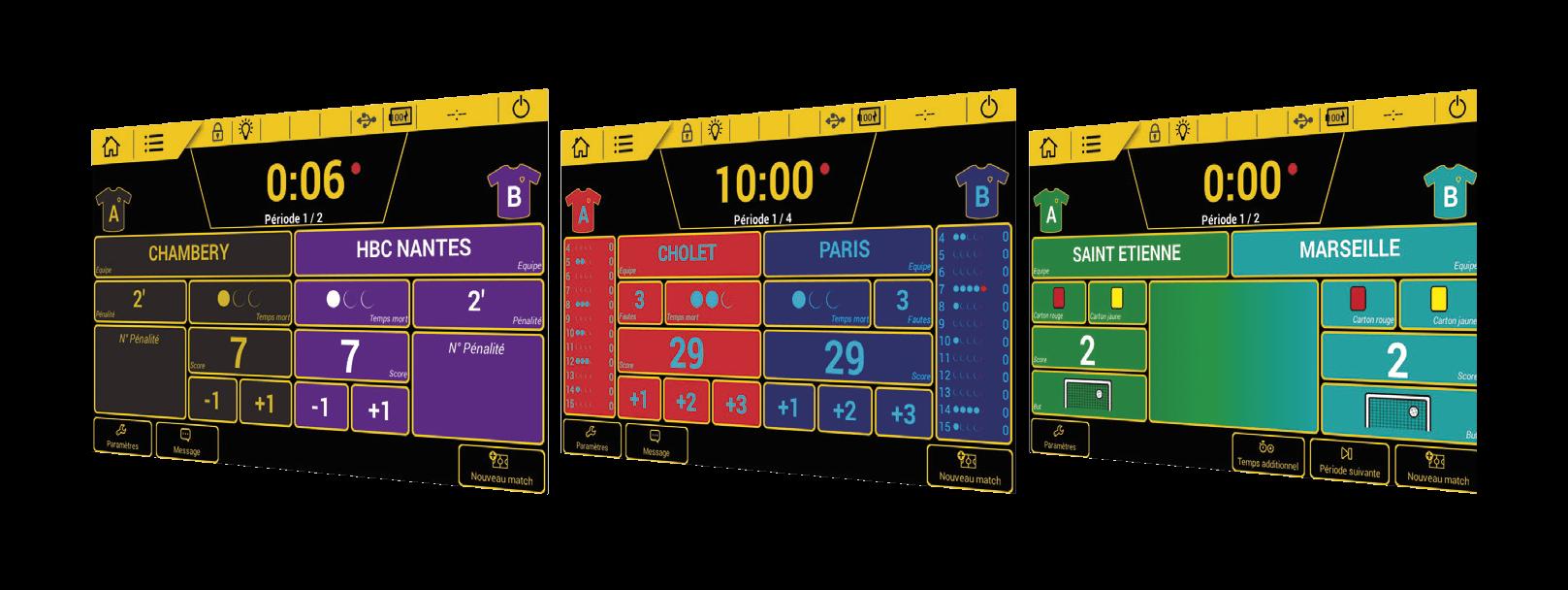 Scorepad - Ultra personnalisable