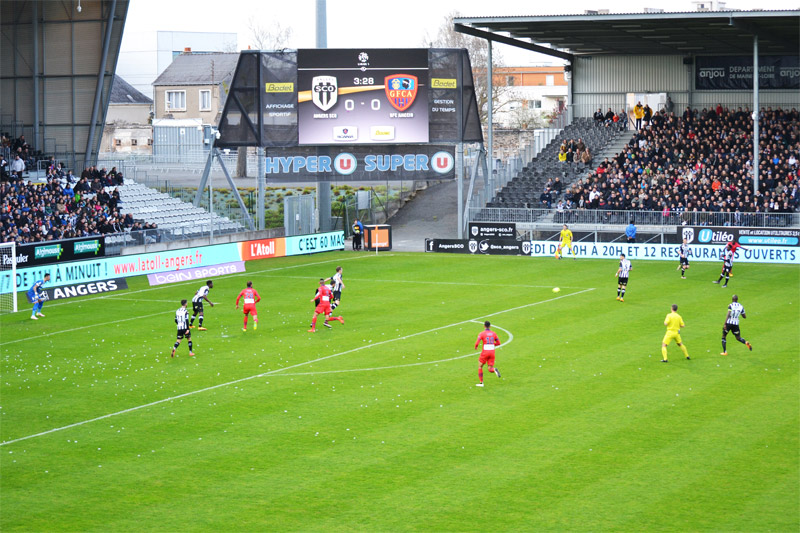 LED video display - Angers SCO