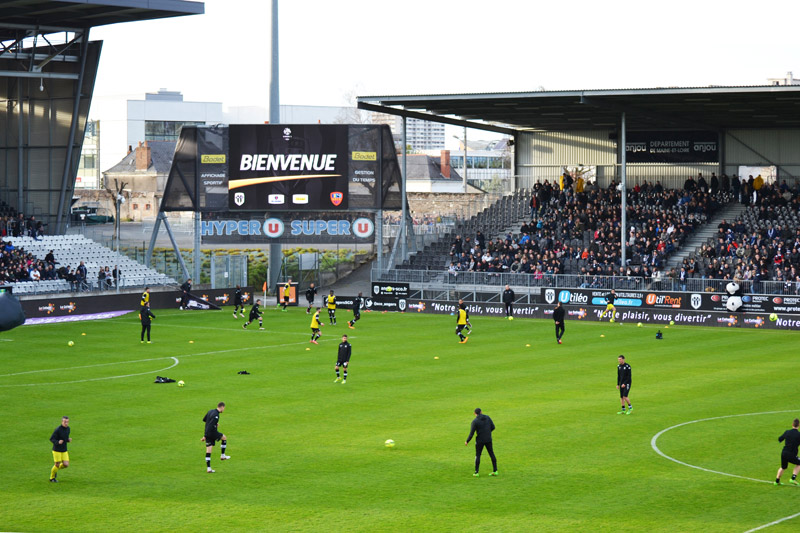Stade Jean Bouin à Angers