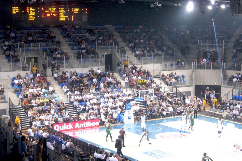 Arena Antibes tableau scores Bodet