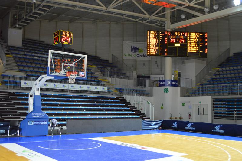 Arena Orchies tableau scores Bodet