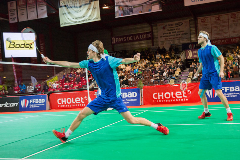 Cholet championnat france badminton 2014