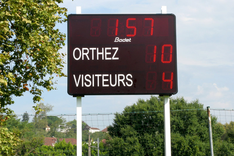 Stade municipal orthez BT2025