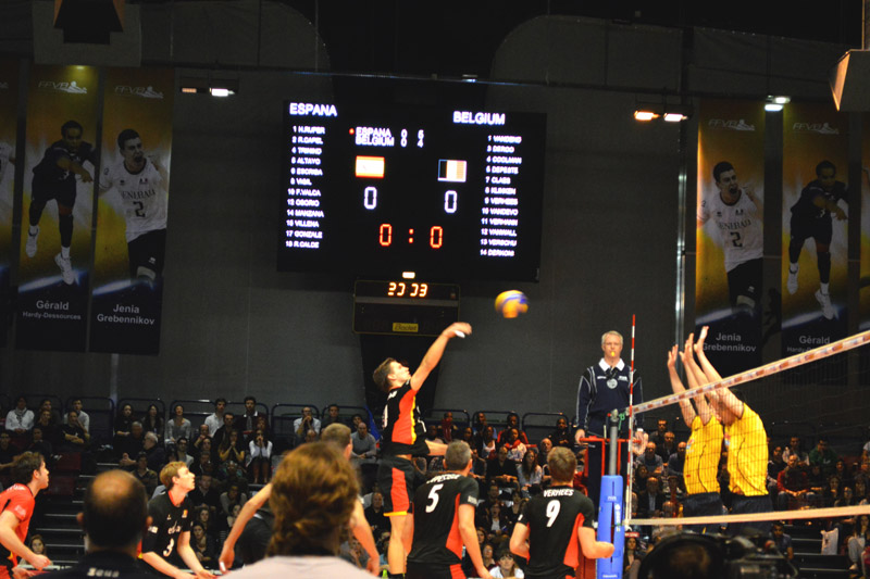 Tounoi international volleyball paris carpentier