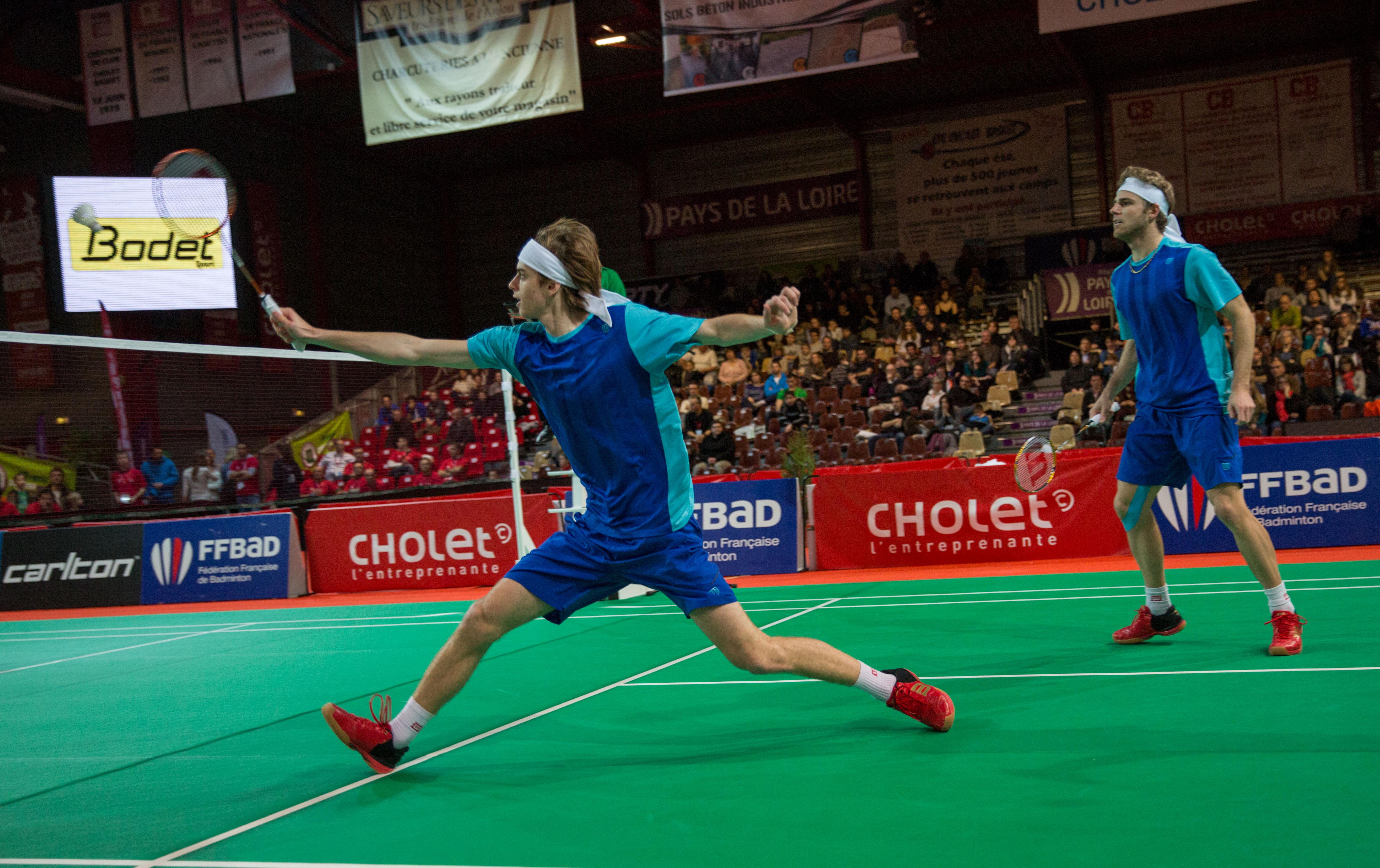 CHOLET La-meilleraie Championnats badminton 2014 BT7000 11