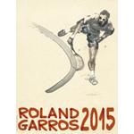 affiche roland Garros 2015