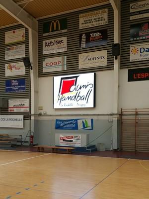 aunis handball ecran led
