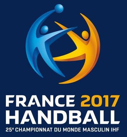 Logo France 2017 Handball