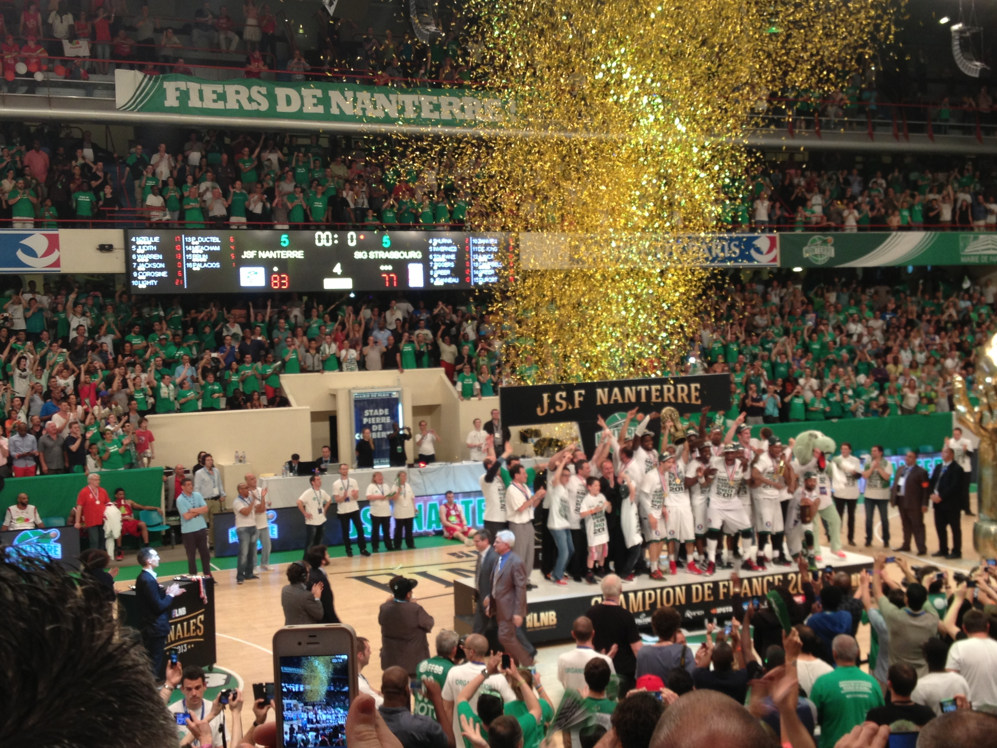 Paris Nanterre Basket Ecran 11