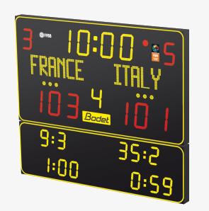 futsal scoreboard bt6130 alpha