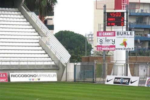 Stade Pierre de Coubertin - Cannes