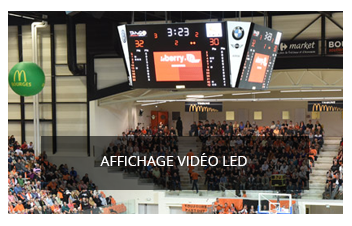 Affichage video LED