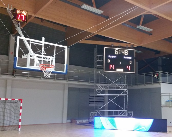 solution-affichage-sportif-LED-salle-villenave-ornon-gymnase-1