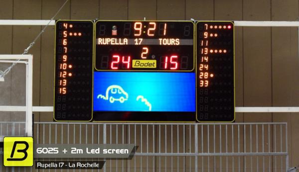 video compact indoor video screen