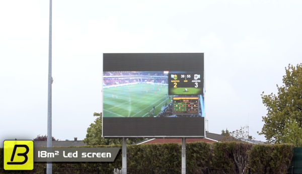 video large outdoor video screen