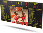 Bodet - Tableau d'affichage sportif Basketball - BT6730 Video 7M 12P H10