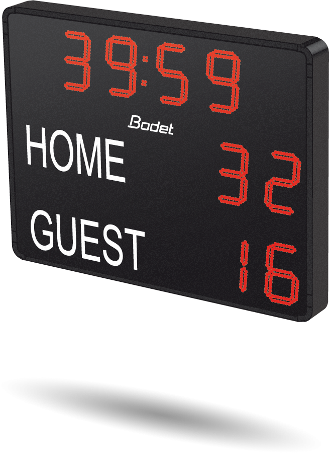 scoreboard football classic sport rugby sports hockey bodet scores timer tennis table volley combat