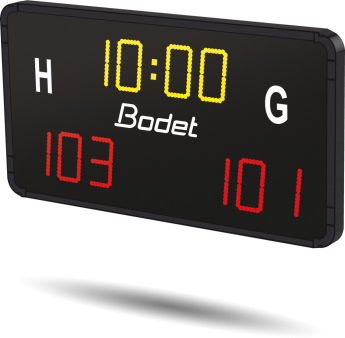 Bodet - Game clock and score repeater